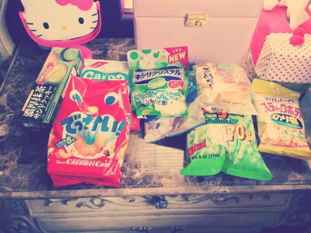 日本超市的各种小零食